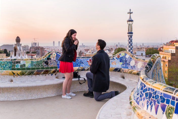 engagement photographer in Barcelona