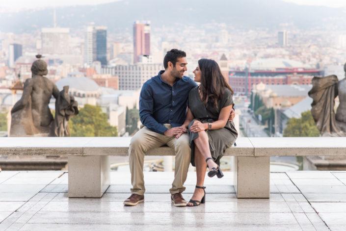 surprise engagement proposal Barcelona