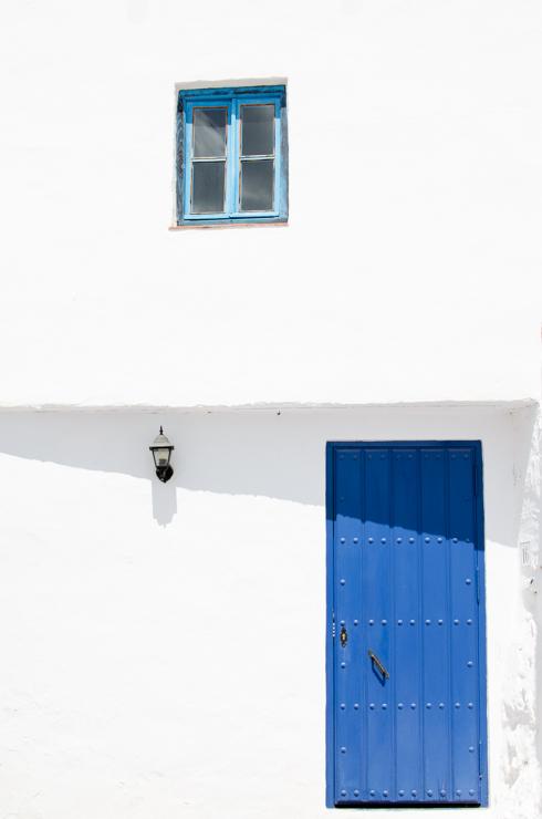 Blue door, Costa del Sol